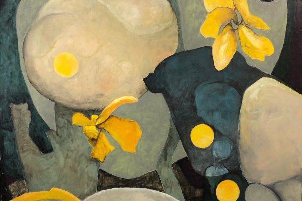 Copy of Karen Annett-Thomas, Kairn Road, February, 2021, oil on canvas 140cmx140cm